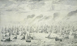 Anglo-Dutch Wars - The Battle of Scheveningen, 10 August 1653