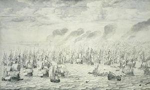 Anglo-Dutch Wars - The Battle of Scheveningen, 10 August 1653