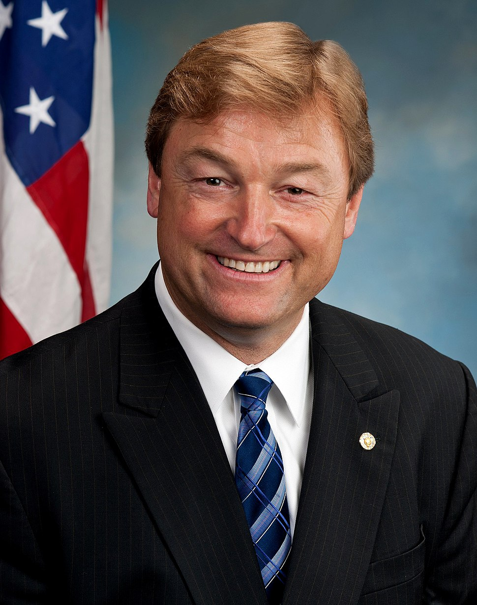 Dean Heller, Official Senate Portrait, 112th Congress
