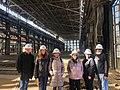 Deb Haaland tours the Santa Fe Railway Shops in 2019. 03.jpg
