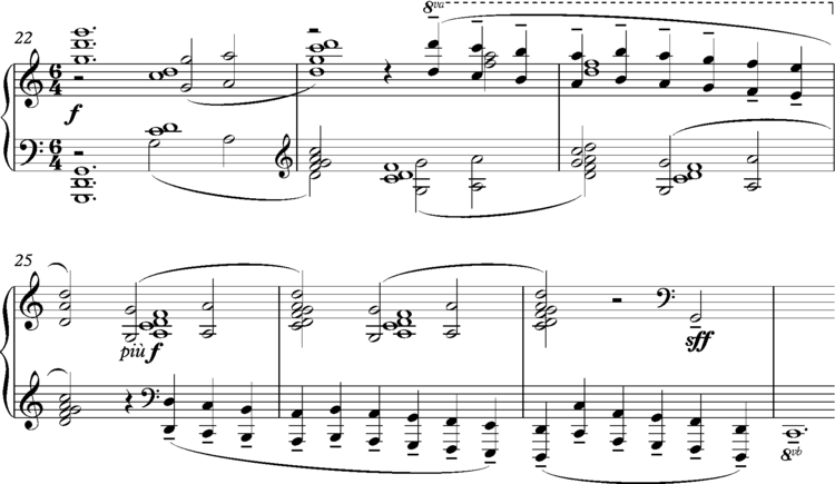 "Debussy ""La cathedrale engloutie"", bars 22-28 Debussy ""La cathedrale engloutie"", bars 22-28.png"