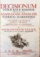 Decisionum Sacrae Rotae Romanae coram r.p.d. Ansaldo De Ansaldis, 1704 - 365.tif