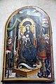 Defendente Ferrari, Maria Santissima in trono col Bambino che regge il mondo tra i ss. Lorenzo e Michele Arcangelo, sec. xvi.jpg