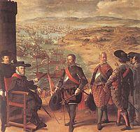 The defense of Cadiz, by Zurbarán