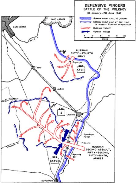 File:Defensive pincers in battle of Volkhov.png