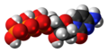 Deoxycytidine triphosphate 3D spacefill.png