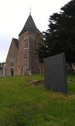 Derek Jarman's grave