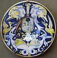 Deruta, piatto con stemma e grottesche, 1535-40 ca.JPG