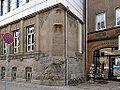 Dessau,Sockel der Rolandstatue.jpg