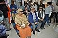 Dignitaries Watch Third Dimension Show - Beyond Maya Gallery - Swami Akhandananda Science Centre - Ramakrishna Mission Ashrama - Sargachi - Murshidabad 2014-11-29 0377.JPG