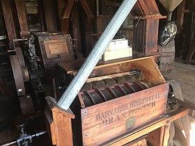 Dillard Mill State Historic Site mill interior 9-24-17.jpg