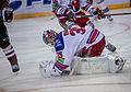 Dinamo Riga vs HC Lev Praha 2013-12-28 Petri Vehanen (2).jpg