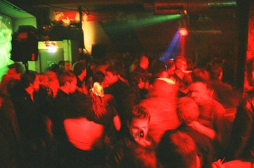 Discotheque in Berlin