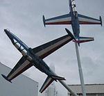 Displays at the Musee de l'Air et de l'Espace, Le Bourget, Paris, France, September 2008 (71).JPG