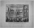 Distribution of the American Art Union Prizes, at the Tabernacle, Broadway, December 24, 1847 MET MM87426.jpg