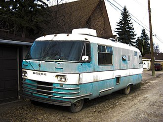 Recreational vehicle - 1970s Dodge Travco