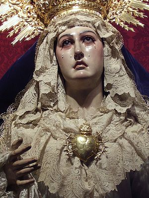 Our Lady of Sorrows El Viso del Alcor, Seville...