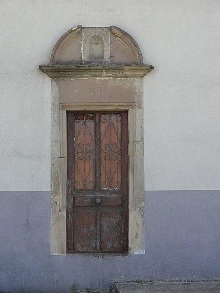 Domèvre-sur-Vezouze (M-et-M) porte maison