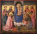 Domenico di michelino (attr.), madonna in trono tra santi, xv secolo, da s. girolamo a volterra 02.jpg
