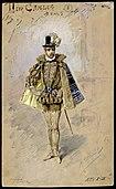 Don Carlo (tenore), figurino di Alfredo Edel per Don Carlos (1887) - Archivio Storico Ricordi ICON000731.jpg