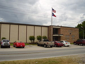 East Aldine, Texas - M. B. Sonny Donaldson Administration Building, the headquarters of the Aldine Independent School District