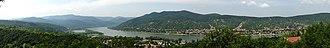 Danube Bend - Image: Donauknie Visegrad 2