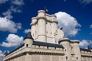 Vincennes - Image: Donjon du Château de Vincennes
