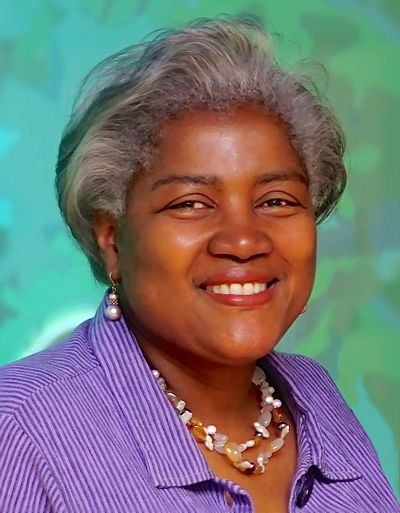 Donna Brazile, American author, educator, and political activist and strategist