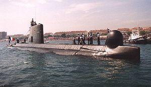 Daphné-class submarine
