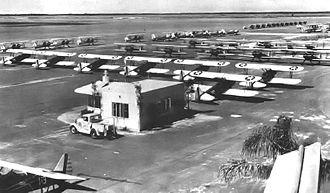Dorr Field - PT-17 Stearmans at Dorr Field, 1942