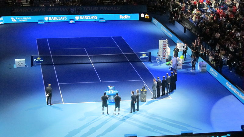 File:Doubles prize giving ceremony at The O2 (8325893934).jpg