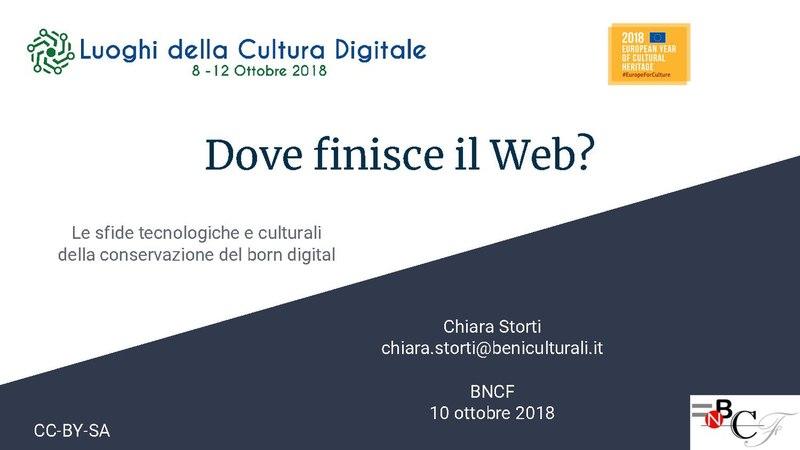 File:Dove finisce il Web? Le sfide tecnologiche e culturali della conservazione del born digital.pdf