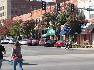 National Register of Historic Places listings in Jackson County, Oklahoma - Image: Downtown Altus, Oklahoma