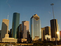Downtown Houston Skyline; 2009.jpg