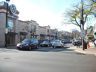 Naperville, Illinois - Businesses in Downtown Naperville