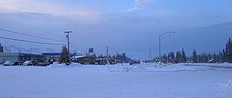 Tok, Alaska - Image: Downtown Tok Alaska