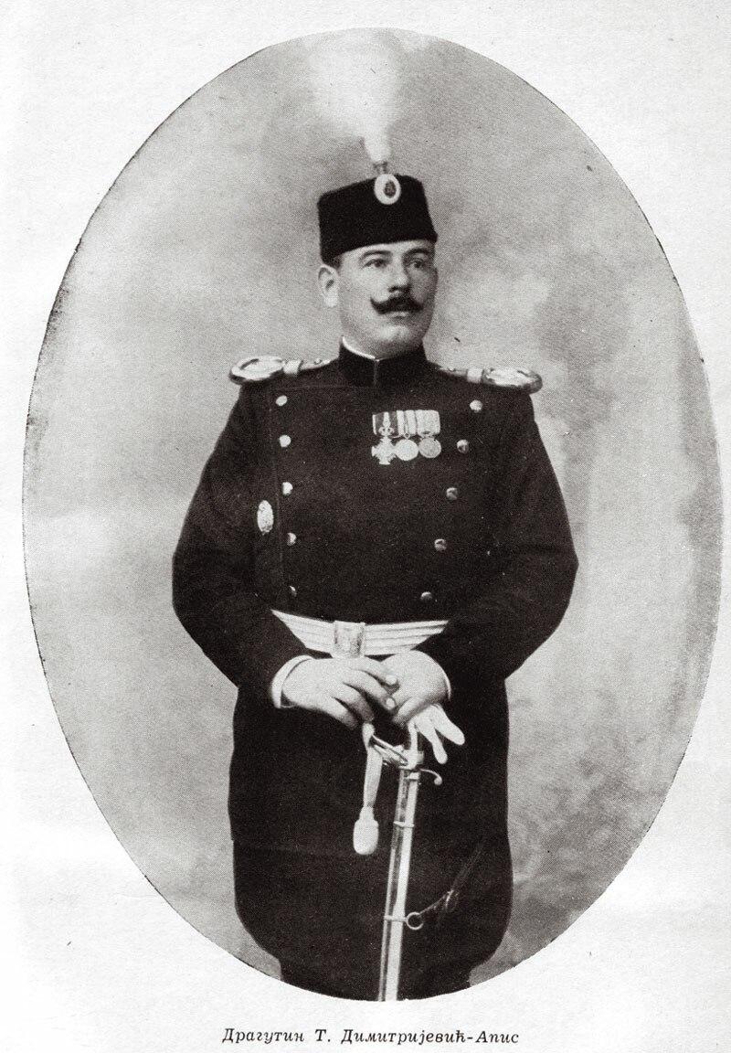 Dragutin Dimitrijević-Apis, ca. 1900