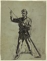 Drawing, Cavalry Soldier Loading a Rifle, 1863–64 (CH 18175517).jpg