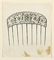 Drawing, Design for a Comb, 1820–30 (CH 18551215).jpg