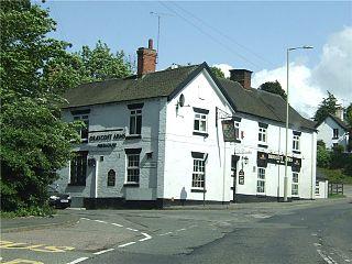 Draycott in the Moors village in United Kingdom