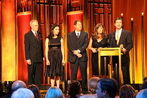 Drew Griffin - CNN Correspondent Drew Griffin accepts the Peabody for Crisis at the VA. He is joined on stage by Nelli Black, Scott Bronstein and Patricia DiCarlo.
