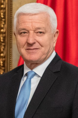 Duško Marković 5th Prime Minister of Montenegro
