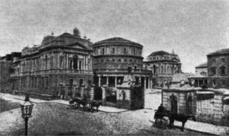 National Library of Ireland - 1907 photograph of the National Library of Ireland, as taken from the Nordisk familjebok