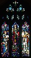 Dublin Saint Saviour's Dominican Priory Church Outer South Aisle Window Salvator Mundi 2012 09 26.jpg