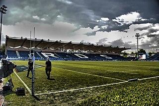 RDS Arena Stadium in Dublin, Ireland