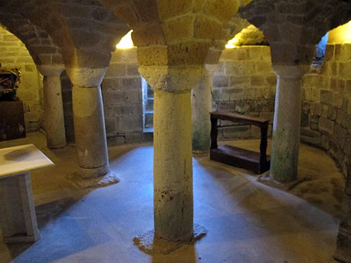 Duomo di Sovana, int., cripta 01