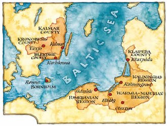 Euroregion Baltic - Image: ERB map