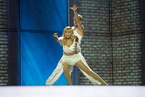 Amazing (Tanja song) - Image: ESC2014 Estonia 01