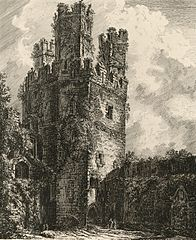 Eagle Tower, Carnarvon Castle