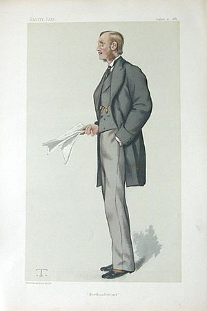 "Henry Percy, 7th Duke of Northumberland - ""Northumberland"" Earl Percy as caricatured in Vanity Fair, August 1881"